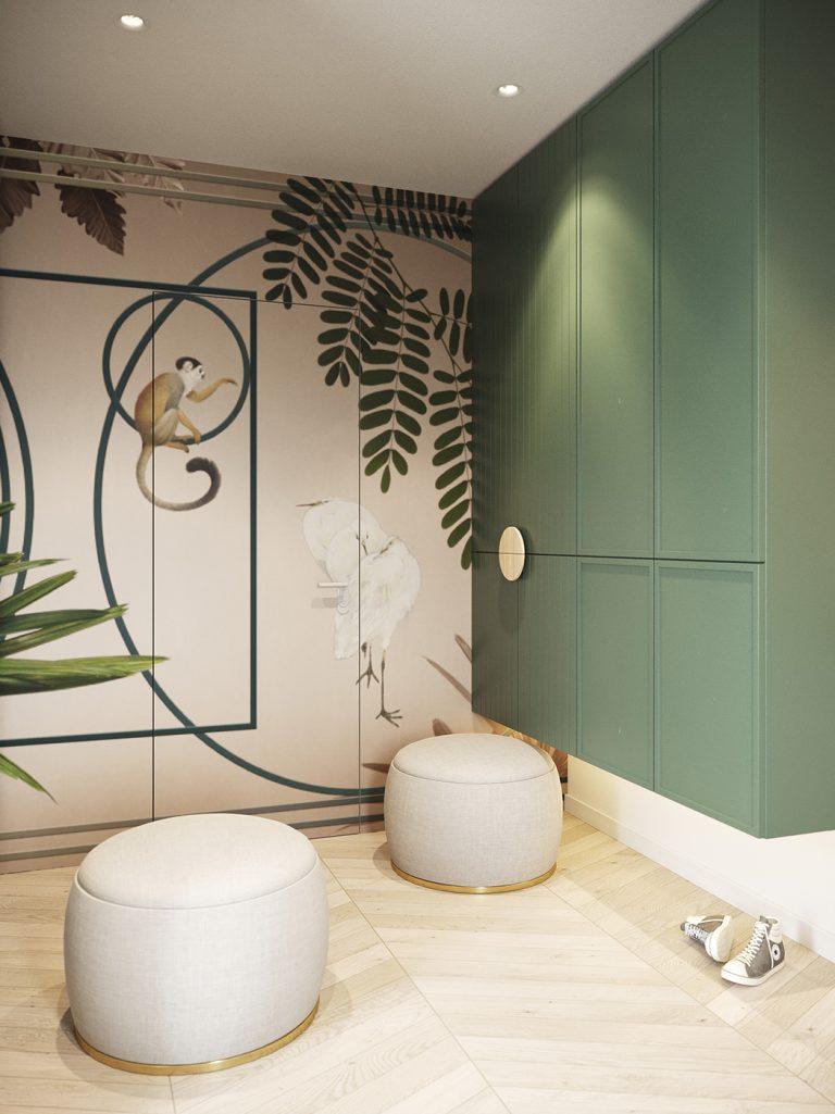 Monkey Business, Family home interior design